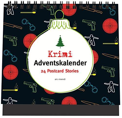 Krimi-Adventskalender: 24 Postcard-Stories