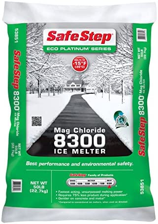 Sale special price Safe Step Eco Platinum 8300 Ice Magnesium Melt Chloride Granule Manufacturer direct delivery