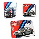Lancia Delta HF Integrale Rally Car Gift Collection - Tazza e tappetino per mouse