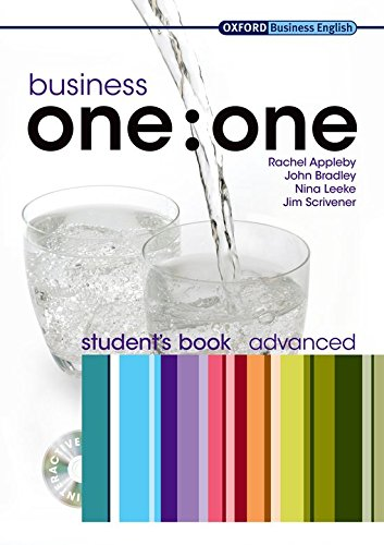Business One: One Advanced: Multirom Included Student Book Pack (Business One to One)
