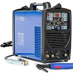 IPOTOOLS SUPERTIG 200DI Spawarka SPAWARKA AC DC z w pełni cyfrowym urządzeniem spawalniczym 200 Amper Włącznie z zapłonem RF, funkcją impulsową, MMA, IGBT