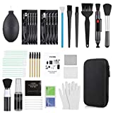 Zacro 18-in-1 Professional Camera Cleaning Kit for Most DSLR Cameras (Canon, Nikon,Sony), with Air Blower/Lens Cleaning Pen/Detergent/Cleaning Cloth/Lens Brush/Carry Case