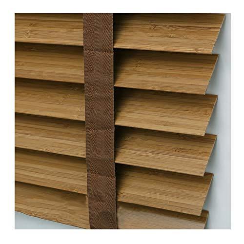 YJFENG Soportes De Bambú Persianas Venecianas Estores Herrajes for Ventanas Impermeable, Luz De Bloque Levantamiento Vertical Y Caída Cuidado Facil (Color : Yellow, Size : 80x200cm)