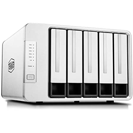 TerraMaster F5-221 NAS 5-Bay Cloud Storage Intel Dual Core 2.0GHz Plex Media Server Network Storage (Diskless)
