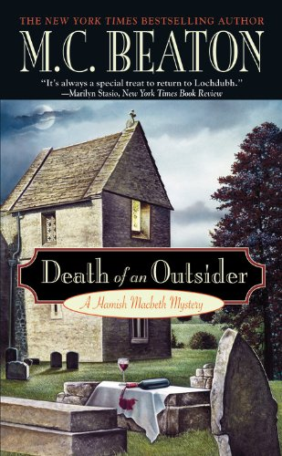 Death of an Outsider (Hamish Macbeth Mysteries,... 0446614726 Book Cover