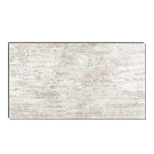 shower wall materials Interlocking Vinyl Wall Tile by Dumawall – Waterproof, Durable 25.59 in. x 14.76 in. Wall/Backsplash Panels for Kitchen, Bathroom, or Shower (8 Panels) (Wind Gust)