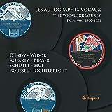 Autographes Vocaux