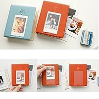 gazechimp 64枚 インスタント写真フォトアルバム 名刺収納ケース 富士インスタックスアイボリー用 写真アルバム