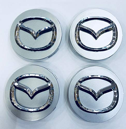 Mazda 56 mm Radkappen Set 4-TLG