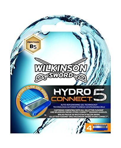 Wilkinson Sword Hydro 5 Connect - 4 recambios de repuesto