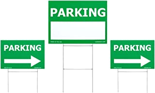 event parking yard signs