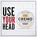 Cremo Barber Grade Dry Shampoo Paste, Refreshes Hair Without Water, 4 Oz 3
