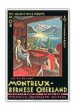 Schweiz - Montreux-Berner Oberland-Bahn MOB Elektro - Die