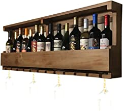 Wood Wine Racks Wall Holder | Vintage Wine Bottle Holder Wall Mounted | Rustic Wine Holder | Wall Shelf Storage Organizer ...