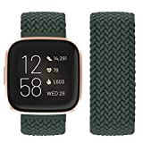 Vozehui - Cinturino di ricambio per Fitbit Versa 2, elastico e traspirante, in morbido nylon, per Fitbit Versa 2, Fitbit Versa, Versa Lite, da donna e da uomo