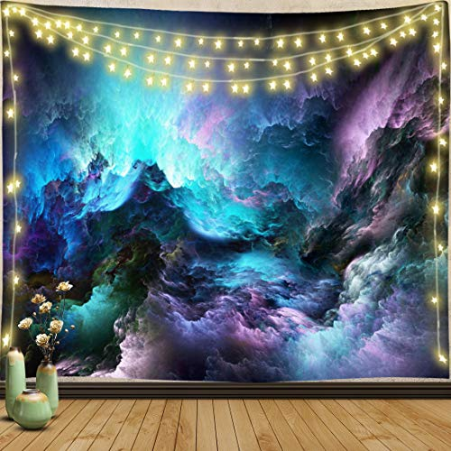 Trippy Tapestry Wall Hanging Boho Hippie Wall Tapestry Blanket Art Decor Psychedelic Tapestry for Bedroom Dorm Living Room tapestries