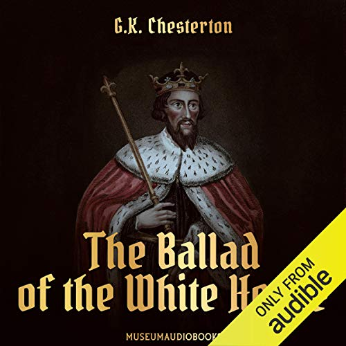 The Ballad of the White Horse audiobook cover art