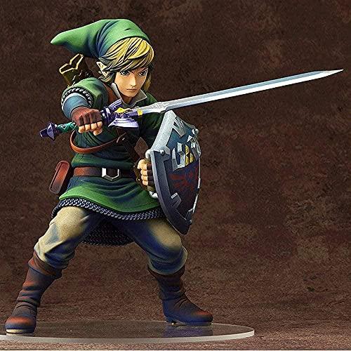 The Legend of Zelda Link Combat Position Character Model Statue PVC Figure Model Dolls Figure D Anime Desktop Ornaments Anime Toys for Adults The Otaku Preferred Gift