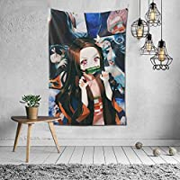 ねずこ1 タペストリー 個性ギフト インテリア 壁飾り カスタム ウォールアート リビングルーム 部屋 ベッドルーム 新居祝い 150*102cm