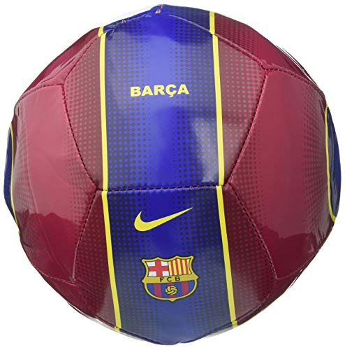 NIKE FC Barcelona Temporada 2020/21-FCB NK SKLS-FA20CQ7884-620 Balón de Fútbol, Unisex, Noble Red/Loyal Blue/(Varsity Maize), 1