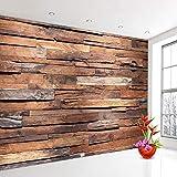 LOVEJJ Carta Parati Pavimenti in legno massiccio Sfondo Wallpaper Murale Fotografica Sfond...