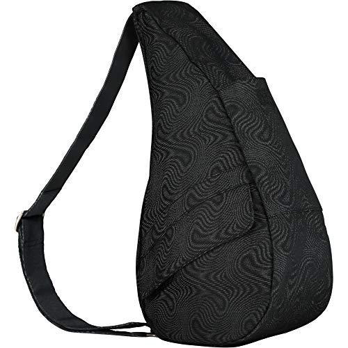 Healthy Back Bag Moire Black Small Handbag