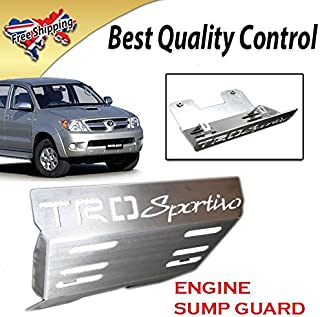 Sportivo Front Engine Base Plate Skid Sump Guard Fits For Toyota Hilux SR5 2005up