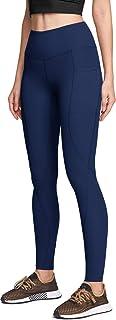 ATIKA Women's High Waist Yoga Pants with Pockets(Hidden/Side), Tummy Control Yoga Leggings, 4 Way Stretch Workout Running ...