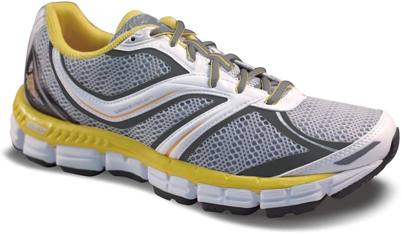 361° Women's Volitation Running shoes Silver White Aspen gold 11.5