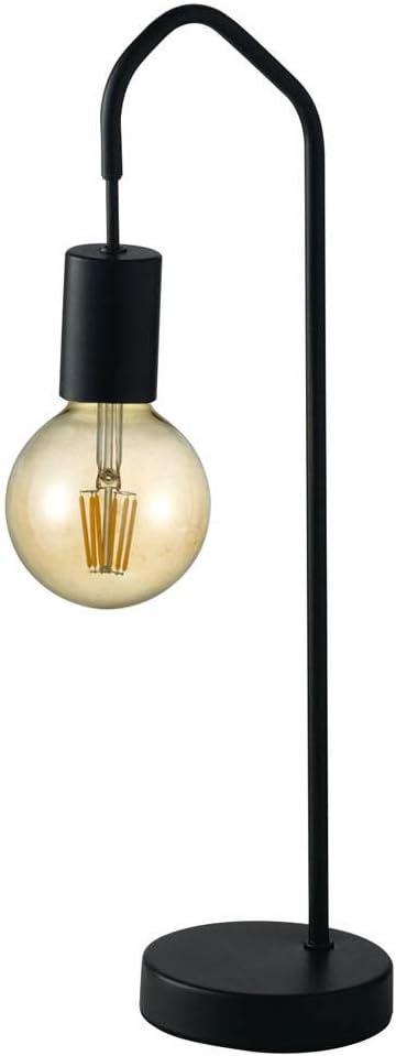 color negro altura de 165 cm L/ámpara de pie LED con forma de arco
