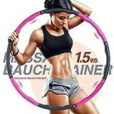 ThxToms | Profi Hula Hoop Reifen Erwachsene 1,5 kg | 8 Elemente | Abnehmbare Hoola Hoop | für Zum Abnehmen | Workout & Training | für Anfänger und Fortgeschrittene | 100cm 1.5kg