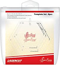 Sew Easy Mini Hexagon Template Set, Original Version