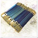 WellieSTR 30 Pieces Pack 12cm Metal Internal Flex Frames Kiss Clasp Bag Coin Purse Sewing Wholesale …