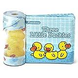 Melissa & Doug Children's Book - Float-Alongs: Three Little Duckies (Bath Book +...