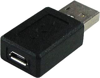 グルービー USB2.0変換アダプタ [ microB(メス) - A(オス) ] データ転送/充電対応  GM-UH011