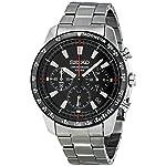 Fashion Shopping Seiko SSB031 Men's Chronograph Stainless Steel Case Watch