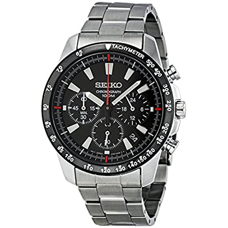 Fashion Shopping Seiko SSB031 Men's Chronograph Stainless Steel Case Watch
