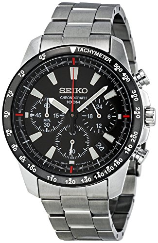Seiko SSB031 Men's Chronograph Stainless...