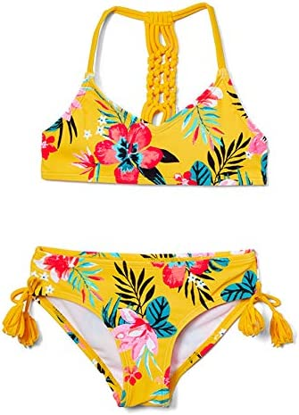 Kanu Surf Girls Willow V Neck Bikini Beach Sport 2 Piece Swimsuits Brooke Mango 10 product image