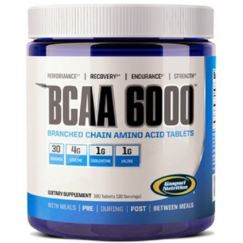 Gaspari Nutrition BCAA 6000, 180 Tablets