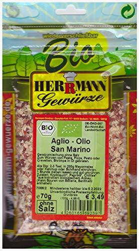 Aglio e Olio San Marino BIO (100g/4,99€)