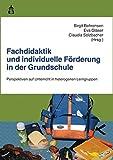 Fachdidaktik und individuelle Förderung in der Grundschule: Perspektiven auf Unterricht in...