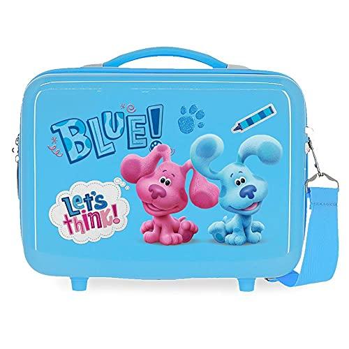 Blue´s Clues and you Beauty case adattabile con tracolla blu 29 x 21 x 15 cm rigido ABS 9,14 L