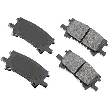Akebono ACT996 Proact Ultra Premium Ceramic Disc Brake Pad kit