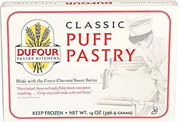 Dufour Pastry Kitchen, All Butter Puff Pastry, 14 oz (Frozen)