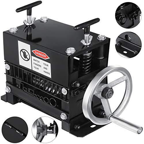 Olibelle Machine Automatique à Dénuder les Câbles Denudeur Cable Multifonction Pince à Dénuder Outils à MainRécupération de Cuivre Φ1.5mm ~ Φ20mm