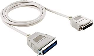 SHUHAN Computer Cables & Connectors IEEE 1284 to RS232 25 Pin Male Cable, 25sb, Length: 1.5m Networking Accessory (Color : White)