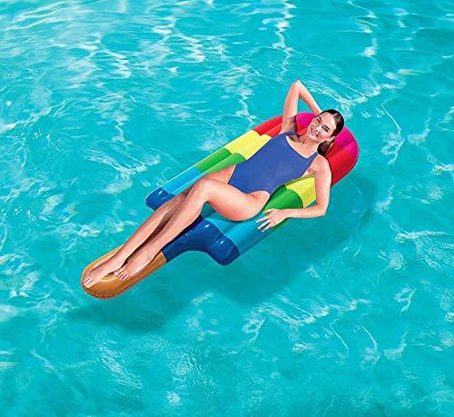 Bestway 43161 Popsicle Air Mat Luftmatratze im Eis am Stiel Design, 180 x 72 cm
