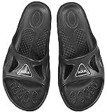 Aqua Speed - Set - Vento Zapatillas de baño + Toalla de Microfibra | Hombres | Sandalias de Ducha | Zapatillas de Playa, Tamaño:42, Color:Vento - 07