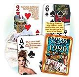 Flickback 1990 Trivia Playing Cards: 30th Birthday